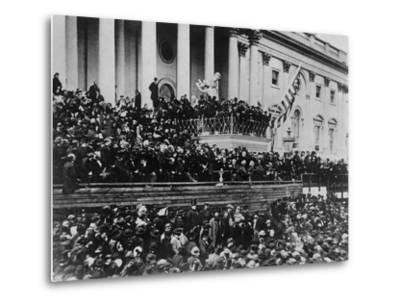 Second Inauguration of President Lincoln--Metal Print