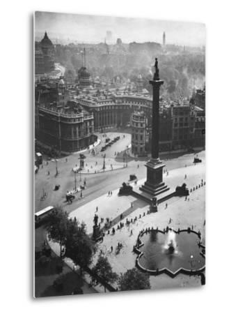 Trafalgar Square, London--Metal Print