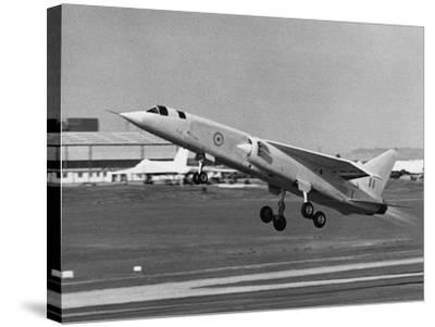 First Flight of Bac Tsr.2--Stretched Canvas Print