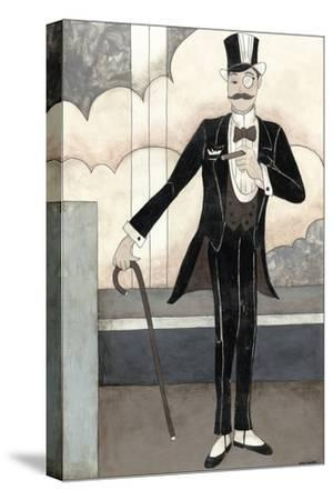 Art Deco Gentleman-Megan Meagher-Stretched Canvas Print
