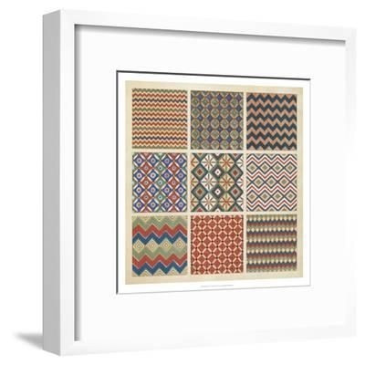 Pattern Patch I-Vision Studio-Framed Art Print