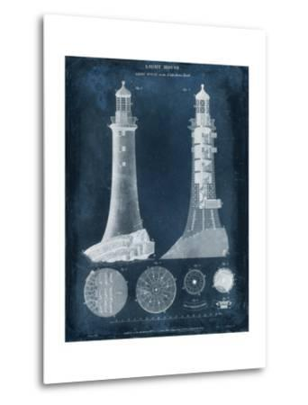 Lighthouse Blueprint-Vision Studio-Metal Print
