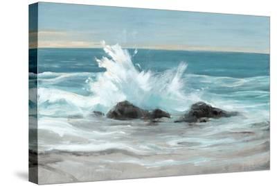 Crashing Wave II-Tim O'toole-Stretched Canvas Print
