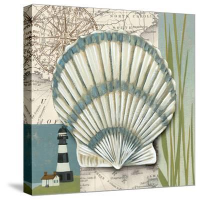Seaside Shell II-Chariklia Zarris-Stretched Canvas Print