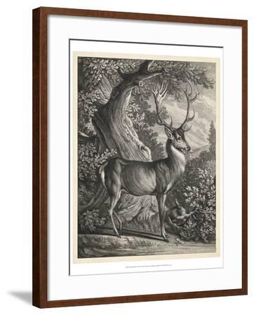 Woodland Deer I-Ridinger-Framed Art Print