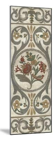 Tudor Rose Panel I-Chariklia Zarris-Mounted Art Print