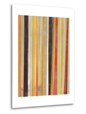 Jubilant Stripes II-Norman Wyatt Jr^-Metal Print