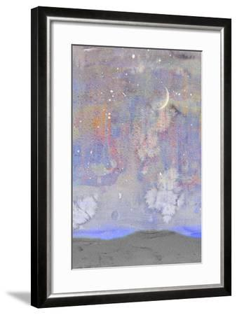 Silvery Moon II-Alicia Ludwig-Framed Art Print