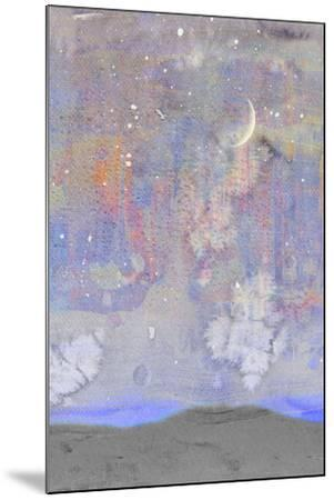 Silvery Moon II-Alicia Ludwig-Mounted Art Print