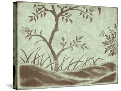 Peaceful Garden IV-Nancy Slocum-Stretched Canvas Print
