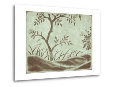 Peaceful Garden IV-Nancy Slocum-Metal Print