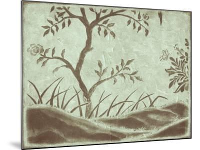 Peaceful Garden IV-Nancy Slocum-Mounted Art Print