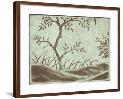 Peaceful Garden IV-Nancy Slocum-Framed Art Print