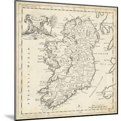 Map of Ireland-T^ Jeffreys-Mounted Art Print