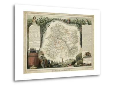 Atlas Nationale Illustre IV-Victor Levasseur-Metal Print
