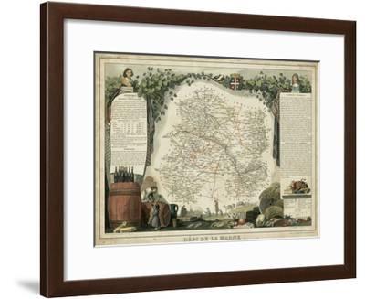Atlas Nationale Illustre IV-Victor Levasseur-Framed Art Print