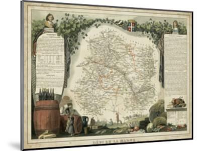 Atlas Nationale Illustre IV-Victor Levasseur-Mounted Art Print
