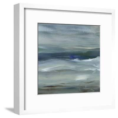 Denim Dance II-Lisa Choate-Framed Art Print