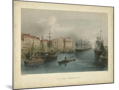The Quay, Yarmouth-William Henry Bartlett-Mounted Art Print