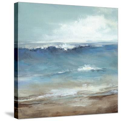 Seaside-Christina Long-Stretched Canvas Print