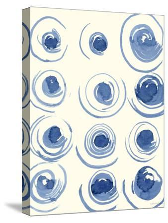 Macrame Blue II-Vanna Lam-Stretched Canvas Print