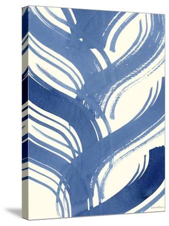 Macrame Blue IV-Vanna Lam-Stretched Canvas Print