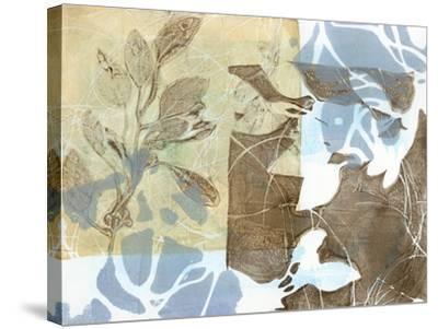 Leaf Inclusion II-Jennifer Goldberger-Stretched Canvas Print