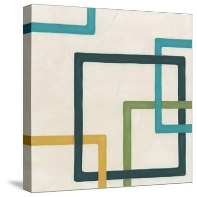 Non-Embellished Infinite Loop IV-Erica J^ Vess-Stretched Canvas Print