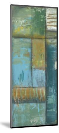 Quadrant Overlay I-Jennifer Goldberger-Mounted Art Print