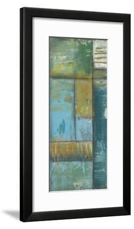 Quadrant Overlay I-Jennifer Goldberger-Framed Art Print