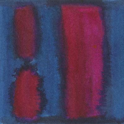 Indigo Meditation II-Renee W^ Stramel-Art Print