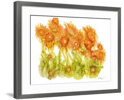 Sunlit Poppies I-Cheryl Baynes-Framed Art Print