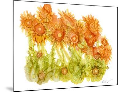 Sunlit Poppies I-Cheryl Baynes-Mounted Art Print