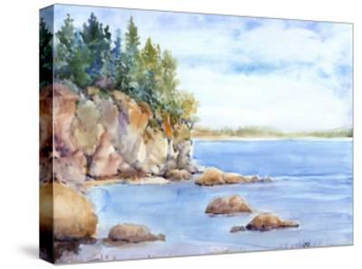 Shore Line I-Tim O'toole-Stretched Canvas Print
