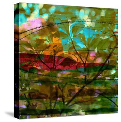 Abstract Leaf Study III-Sisa Jasper-Stretched Canvas Print