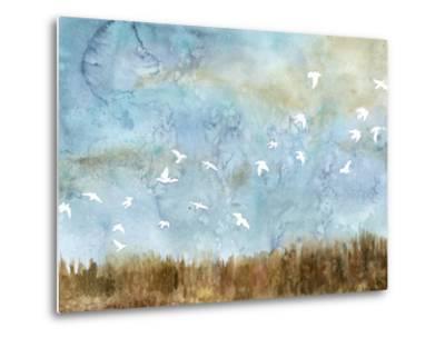 Birds in Flight I-Megan Meagher-Metal Print
