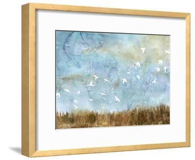 Birds in Flight I-Megan Meagher-Framed Art Print