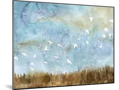 Birds in Flight I-Megan Meagher-Mounted Art Print
