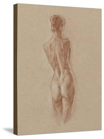 Standing Figure Study II-Ethan Harper-Stretched Canvas Print