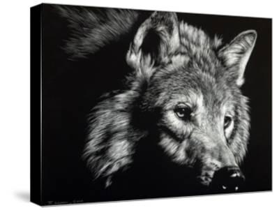 Wild Eyes-Julie Chapman-Stretched Canvas Print