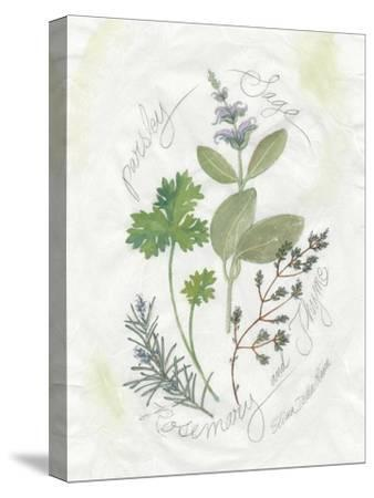Parsley and Sage-Elissa Della-piana-Stretched Canvas Print