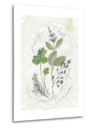 Parsley and Sage-Elissa Della-piana-Metal Print