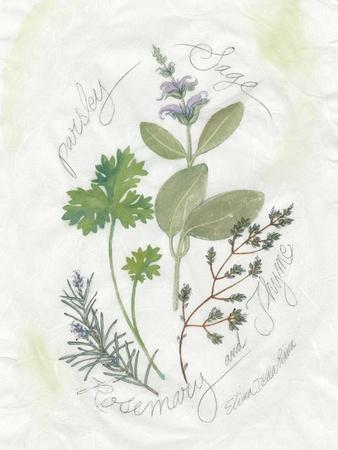 Parsley and Sage-Elissa Della-piana-Art Print
