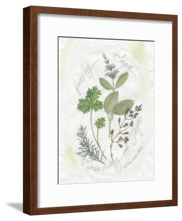 Parsley and Sage-Elissa Della-piana-Framed Art Print