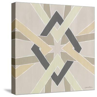 Non-Embellished Deco Stitch III-Vanna Lam-Stretched Canvas Print