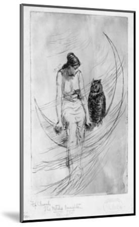 The Witch's Daughter-Frederick Stuart Church-Mounted Premium Giclee Print