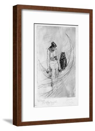 The Witch's Daughter-Frederick Stuart Church-Framed Premium Giclee Print