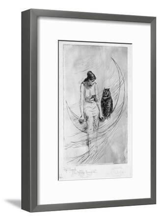 The Witch's Daughter-Frederick Stuart Church-Framed Giclee Print