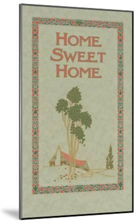 Home Sweet Home--Mounted Giclee Print