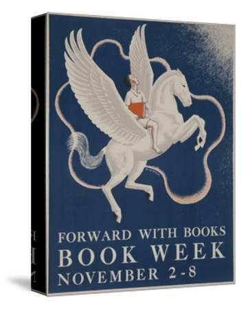 1941 Children's Book Council Book Week--Stretched Canvas Print